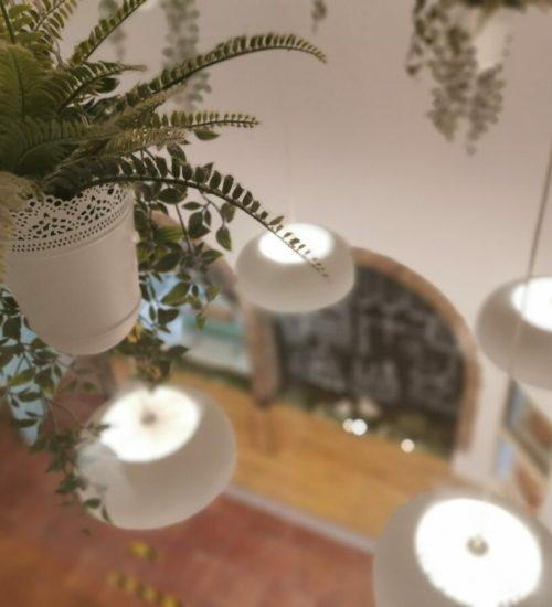 decoración de las zonas comunes del hostal el portazgo